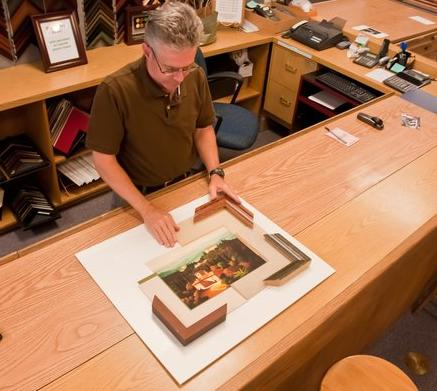 custom picture framing acrylic glass museum conservation SF Framing Sunnyvale